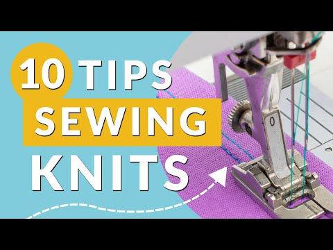 10 tips for sewing knits: For beginners and beyond