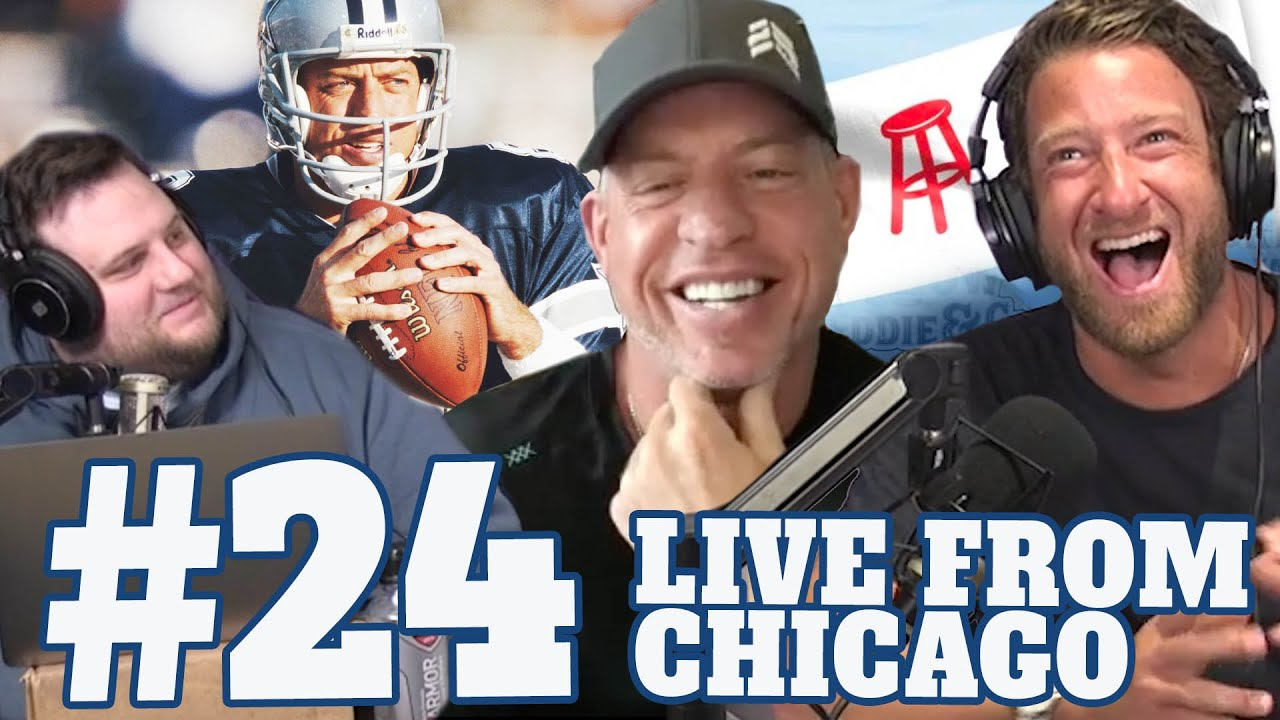"Episode 24 - ""Live"" from the Chicago ""Office"" with Troy Aikman  