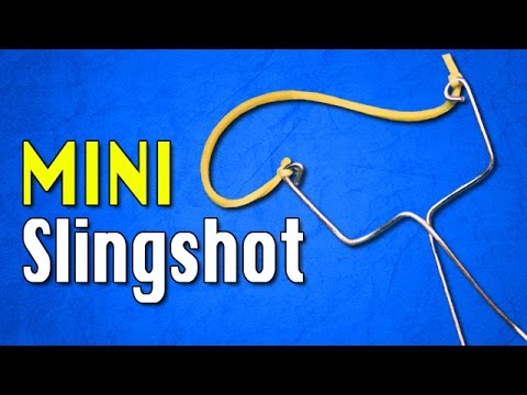 How To Make a Slingshot out of Household items