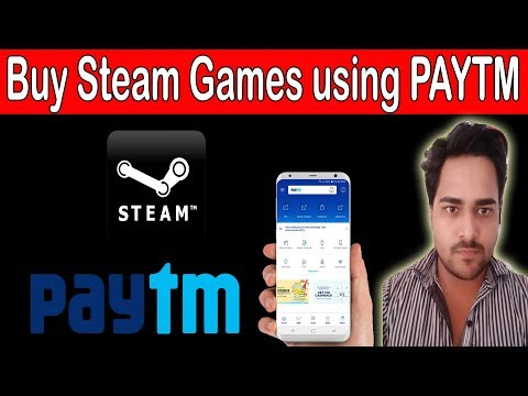 How to Buy Games from Steam with Paytm Wallet - Hindi Tutorial