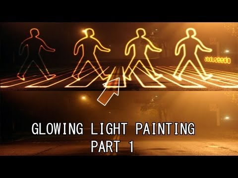 Photoshop CS5 Glowing Light Painting Tutorial (Part 1)
