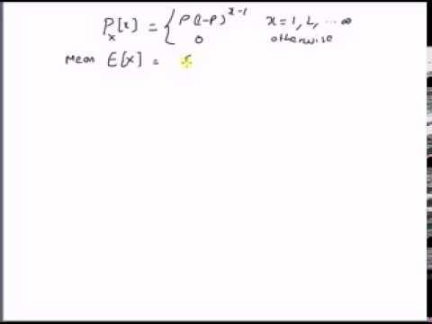 Geometric Distribution: Mean