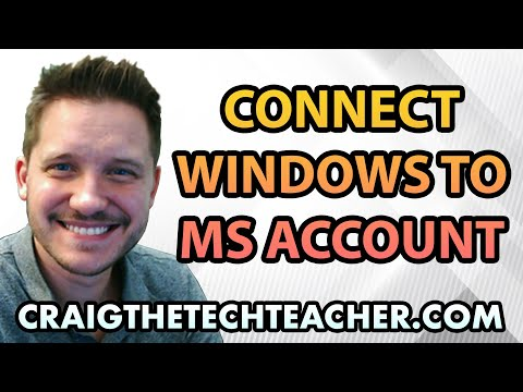 How To Connect Windows 10 User Profile To Microsoft Account