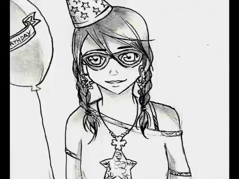 PITY PARTY- Anime Version PaperDoLL - Melanie Martinez