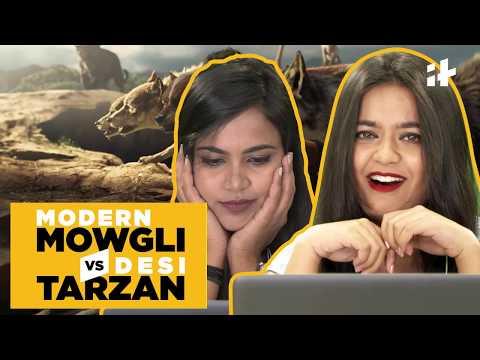 Indiatimes - Modern Mowgli Vs Desi Tarzan | People React To Mowgli And Desi Tarzan