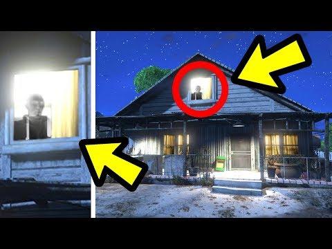 GTA 5 - Someone found Niko Bellic's Ghost! (Footage)