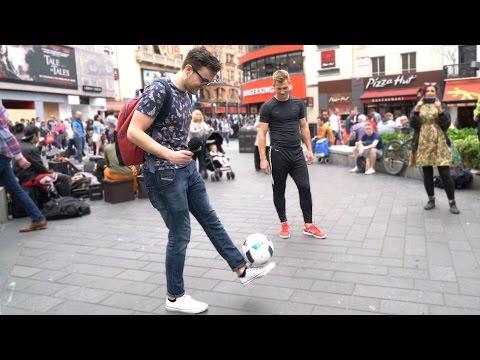 PUBLIC FREESTYLE FOOTBALL CHALLENGE!!!