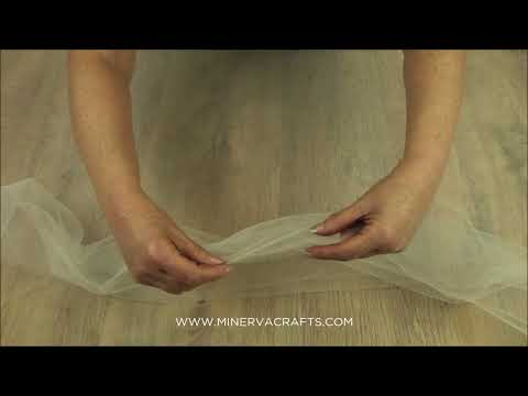 Soft Bridal Veiling Tulle Net Fabric