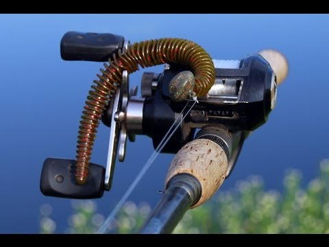 Bass Fishing Tackle Tip - How to Rig a Jig Head