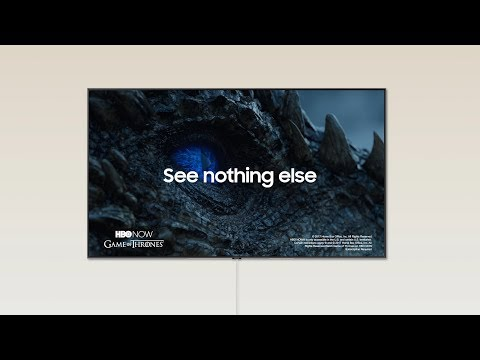Samsung QLED | See Nothing Else