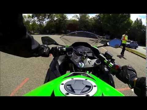 Virginia DMV motorcycle road test