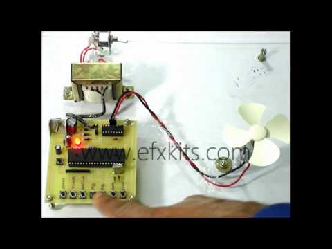 Four Quadrant DC Motor Speed Control With Microcontroller | EEE Projects
