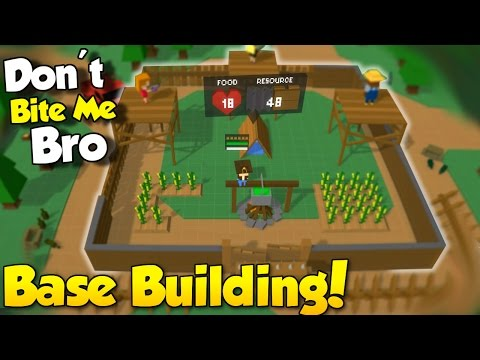 Base Building & POLICE STATION ARMORY! - Don't Bite Me Bro Gameplay - Open World Zombie Survival