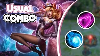 Ahri - The Usual Combo
