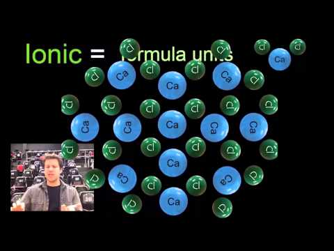 Formula units and molecules, there really is a difference.