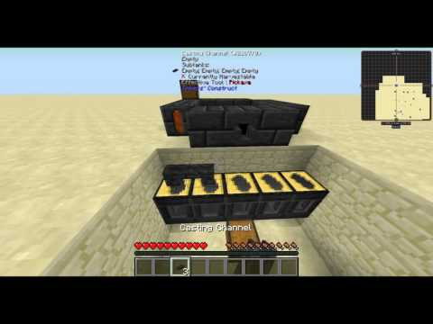 Tinkers' Construct - Bulk Creation - Minecraft