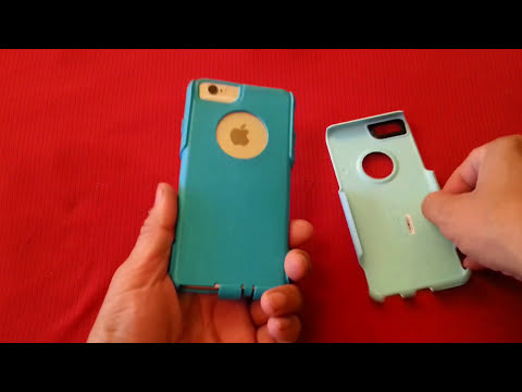 How to remove and install OtterBox Commuter case