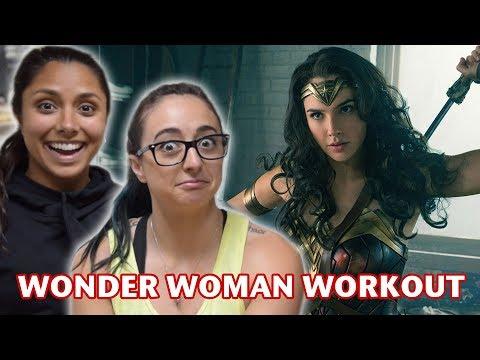 WE TRIED WONDER WOMAN'S WORKOUT