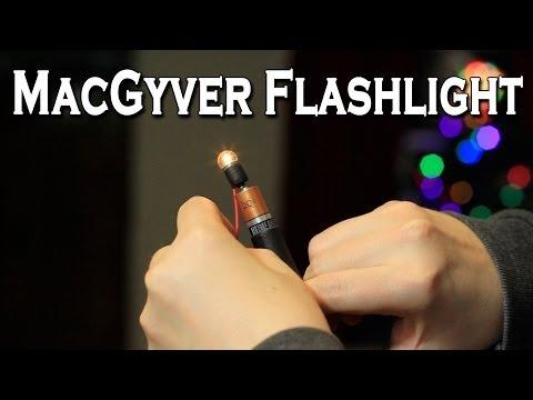 Make a DIY Flashlight In Minutes