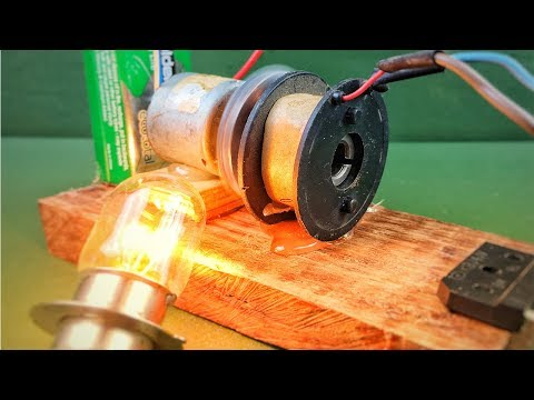 New project experiment self running machine fan motor generator free energy with dc motor at home