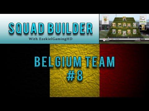 FIFA 12 Ultimate Team | Squad Builder #8 Cheap Belgium Team