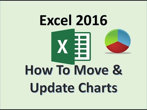 Excel 2016 - Edit a Workbook and Update a Chart