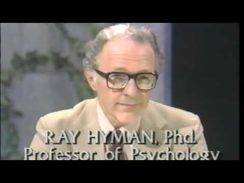 James Randi busts psychics in TV show.
