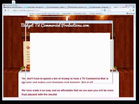 How To Make A TV Commercial FREE! (Step by Step)