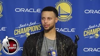 Steph Curry says if ring ceremony ever gets to a 'blah moment' slap him in the face   NBA Sound