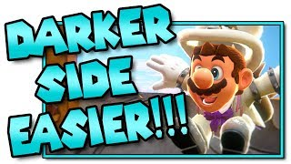 How to Beat the Darker Side of the Moon EASIER! - Super Mario Odyssey