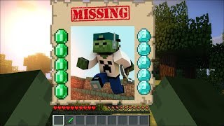 Zombie Matty Gone Missing In Minecraft / What Are We Going To Do !!!!