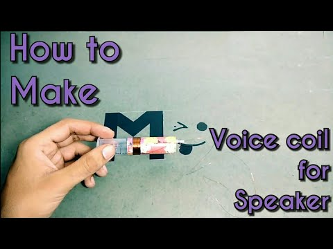 How to make voice coil