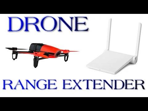 How to Boost Signal // Parrot Bebop WIFI RANGE EXTENDER