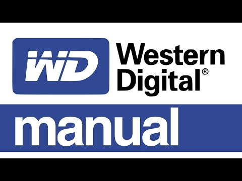 WD my Passport External hard drive Set Up Guide Manual for Mac - Western Digital Use & Install
