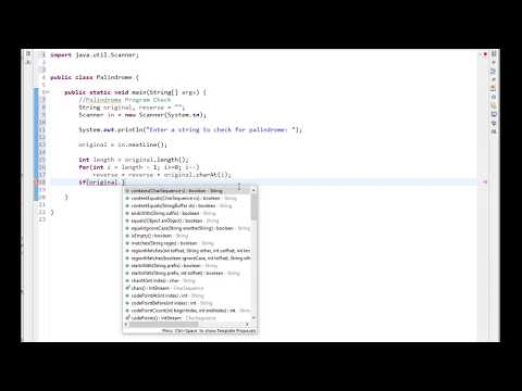 Check for Palindrome words using Java