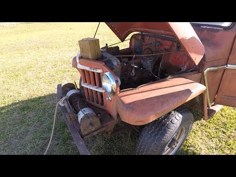 Willys Truck Take Six: Another Pull & Starter