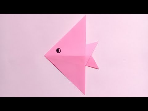 origami fish easy for kids