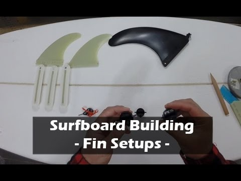 Fin Systems for Surfboards- How to Build a Surfboard #17