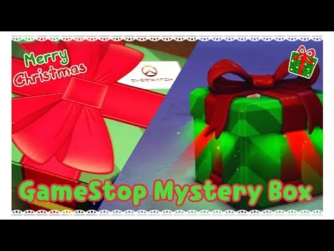 Unboxing The GameStop Exclusive Overwatch Christmas Funko Mystery Box