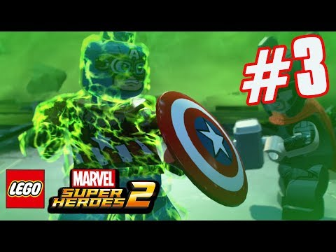 LEGO Marvel Superheroes 2 - Part 3 - ZOMBIE Captain America! (HD Gameplay Walkthrough)