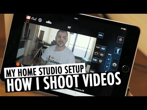 How I Shoot YouTube Videos | Home Studio Setup | RehaAlev