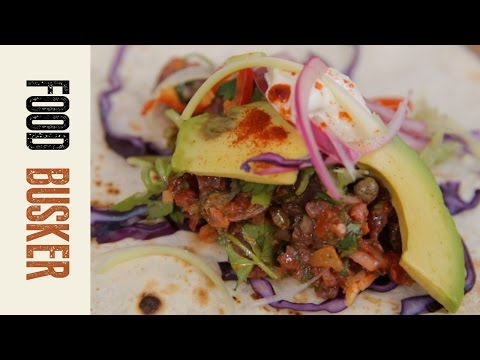 Mexican Tuna Tacos