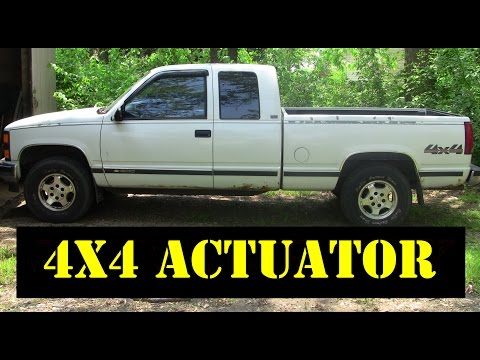 1995 Chevy K1500 - 4x4 Thermal to Motorized Actuator Upgrade