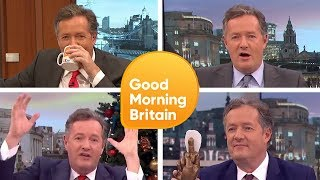 Top 5 Piers Morgan's Funniest Moments    Good Morning Britain