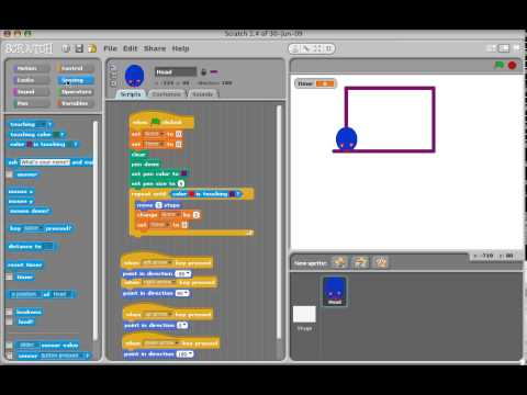 Making a snake game in Scratch, Part 3