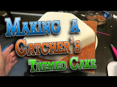 MAKING A CATCHER'S THEMED BIRTHDAY CAKE   ERIKTV365