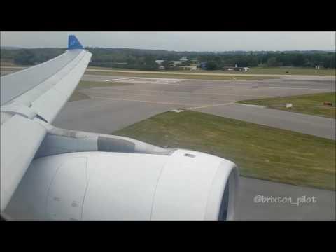 Air Transat A330 Landing at Gatwick Airport