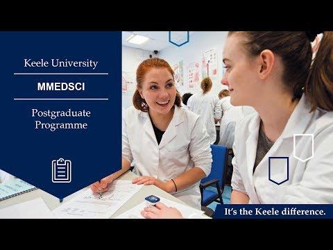 Keele Medical School | Postgraduate Medicine | MMedSci