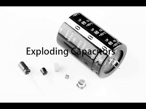 Capacitor Explosion