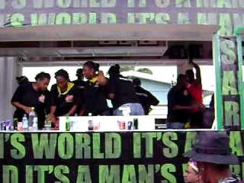 trini bar on wheels (carnival 2011)